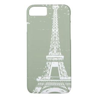 Sage Eiffel Tower iPhone 7 Case