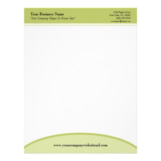 Sage Green Basic Professional Business Letterhead