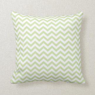 "Sage Green Chevron 16""x16"" Pillow"