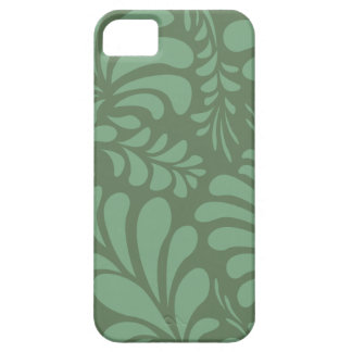 Sage green foliage stylish iphone 5 casemate case