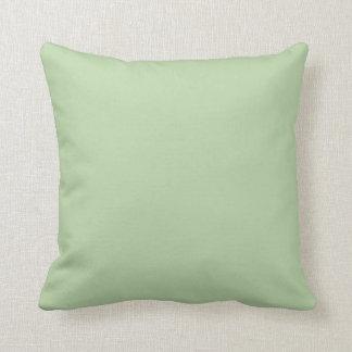 """Sage Green"" Throw Pillows"