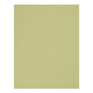 Sage Green Polka Dot Print Scrapbook Paper