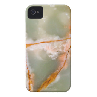 Sage Green Quartz with Rusty Veins iPhone 4 Case