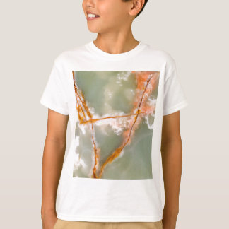 Sage Green Quartz with Rusty Veins T-Shirt