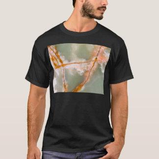 Sage Green Quartz with Rusty Veins T-Shirt