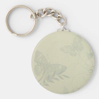 Sage Green Vintage Keychain