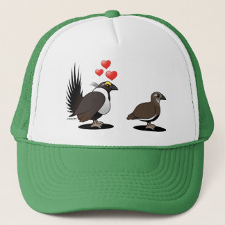 Sage Grouse Love Trucker Hat