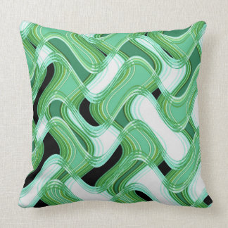 Sage & Ivory Cotton Throw Pillow by C.L. Brown