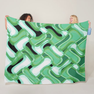 Sage & Ivory Fleece Blanket by C.L. Brown