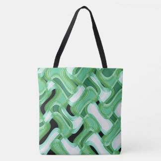 Sage & Ivory Tote Bag by Artist C.L. Brown
