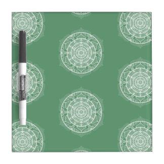 Sage Mandala Dry Erase Board