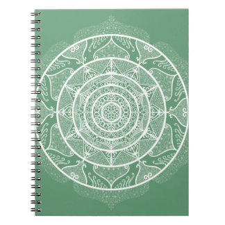 Sage Mandala Notebook