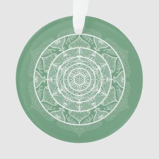 Sage Mandala Ornament
