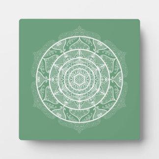 Sage Mandala Plaque