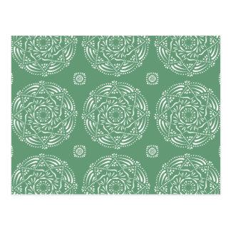 Sage Mandala Postcard