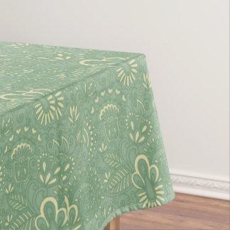 Sage Paisley Tablecloth