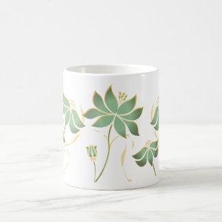 Sage Petals Mug