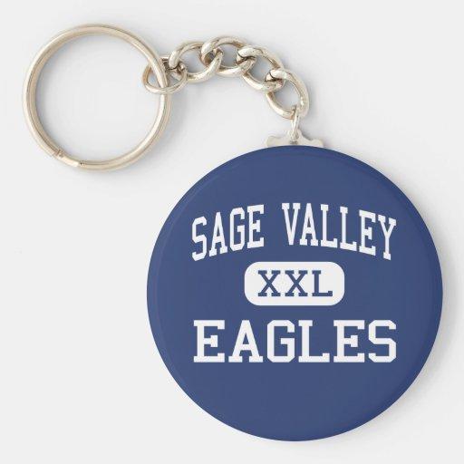 Sage Valley - Eagles - Junior - Gillette Wyoming Keychain