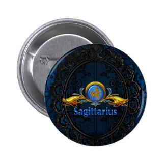 Sagittarius 2 Inch Round Button