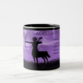 Sagittarius Archer Zodiac Mug with Traits