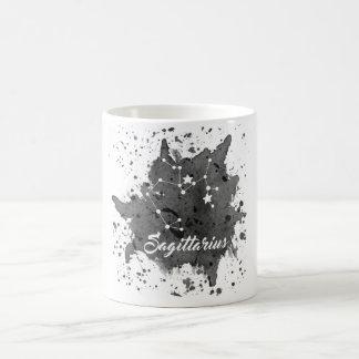 Sagittarius Black Mug