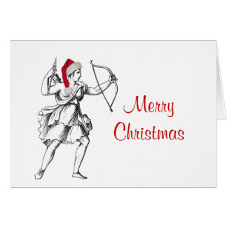 Sagittarius Christmas Card