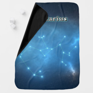 Sagittarius constellation baby blanket