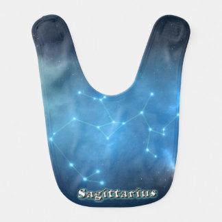 Sagittarius constellation bib