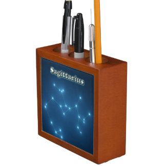 Sagittarius constellation desk organizer