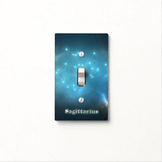 Sagittarius constellation light switch cover