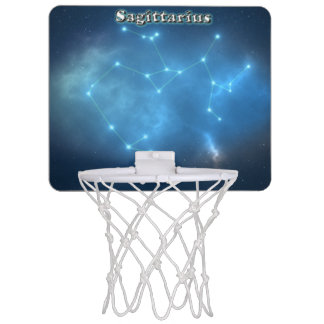 Sagittarius constellation mini basketball hoop