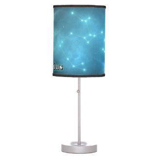 Sagittarius constellation table lamp