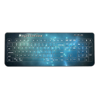 Sagittarius constellation wireless keyboard