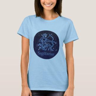 Sagittarius Constellation & Zodiac Sign with Stars T-Shirt