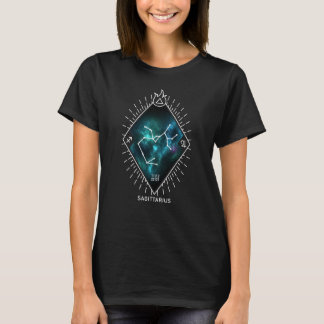 Sagittarius Constellation & Zodiac Symbol T-Shirt
