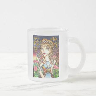 Sagittarius Frosted Glass Coffee Mug