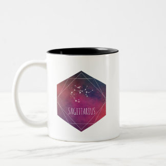 Sagittarius Galaxy Two-Tone Coffee Mug