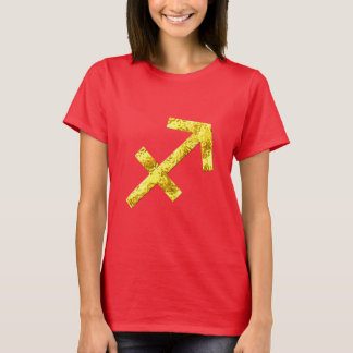 Sagittarius Gold Red Shirt