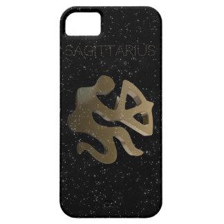 Sagittarius golden sign iPhone 5 cover