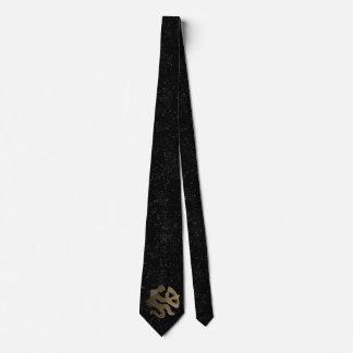 Sagittarius golden sign tie