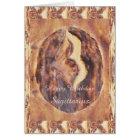 Sagittarius Greek Zodiac Primitive Astrology Card