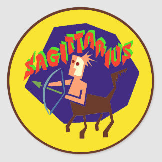 Sagittarius Horoscope Zodiac Astrology Sticker