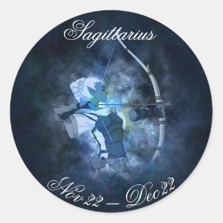 Sagittarius Horoscope Zodiac Astrology Sticker