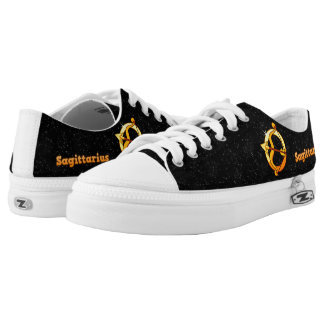 Sagittarius illustration Low-Top sneakers