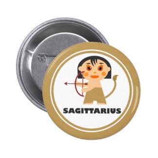 Sagittarius is my Zodiac Sign 2 Inch Round Button