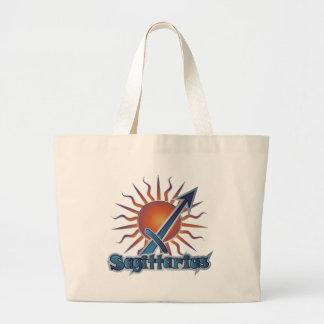Sagittarius Large Tote Bag