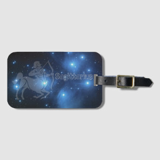 Sagittarius Luggage Tag