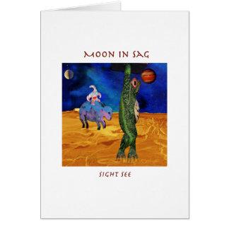 Sagittarius Moon Card