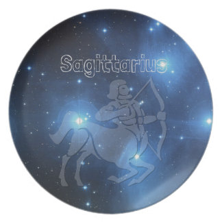 Sagittarius Party Plate