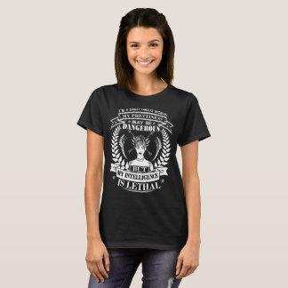 Sagittarius Prettiness Intelligence Lethal Tshirt